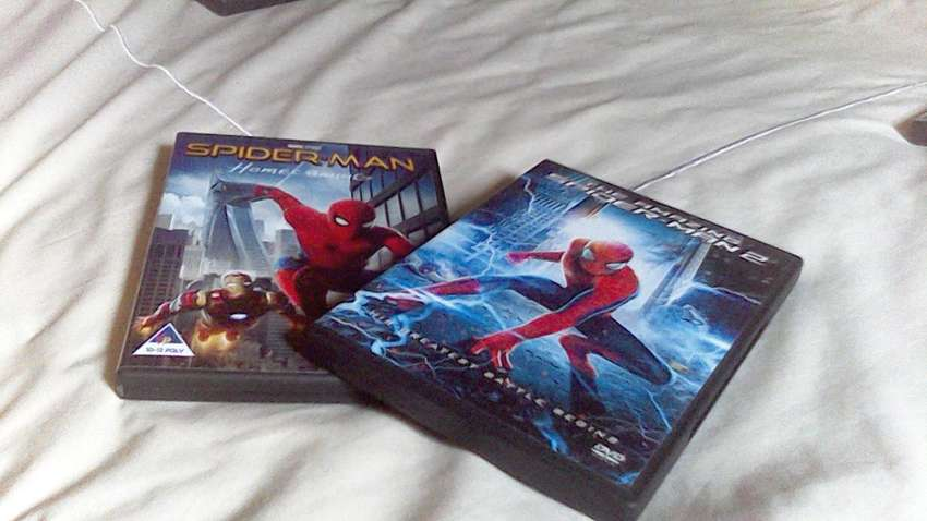 Marvel DVD Combo : Spiderman Homecoming and The Amazing Spiderman 2 0