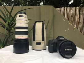 Canon 5D Mark III with 2 lenses & bags