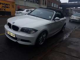 BMW 1series convertable 2 door auto leather interior