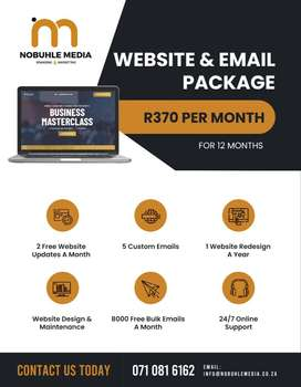 Monthly Website Package