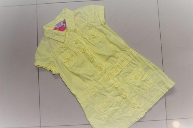 Dziewczynka 98: sukienki bluzki podkoszulki tuniki Mińsk Mazowiecki - image 3