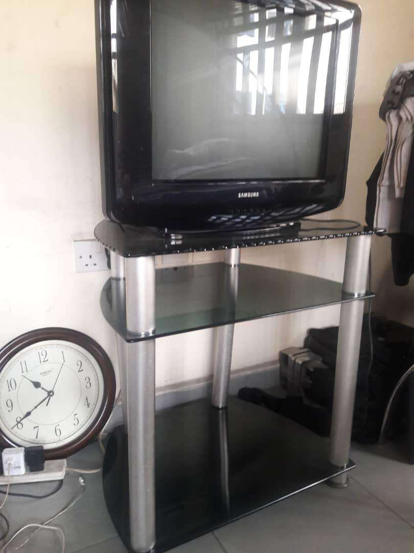 Tv and stand 0