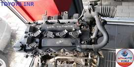 Imported used TOYOTA YARIS/COROLLA 1.3L Engines for sale at MYM AUTOWO