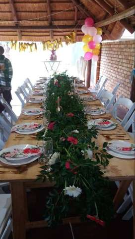 Party decor for hire