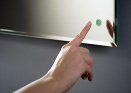 Lustro LED 60x80 podświetlane z włącznikiem dotykowym Wysyłka GRATIS