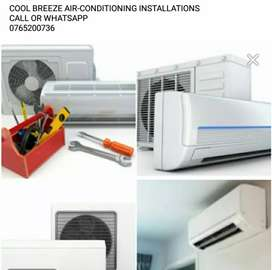 AIR-CONDITIONING INSTALLATIONS