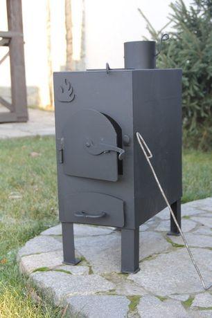 """Буржуйка """"Огонь"""" с конфоркой (сталь 4мм) для дачи. Есть в наличии Днепр - изображение 1"""