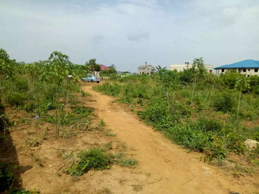 Plot of land for sale at Amrahia behind DVLA 0