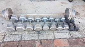 Weight Lifting Set