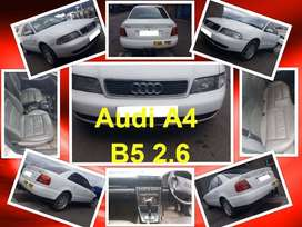 Audi A4 2.6 B5 2002 stripping for spares.