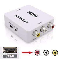 Конвертер из HDMI в AV RCA тюльпаны+Audio+ПИТАНИЕ адаптер переходник
