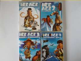 Ice Age Animated Movies Collection. R60 each. I am in Orange Grove .