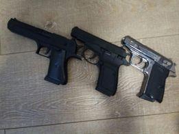 Зажигалка пистолет Walther ppk.7.65