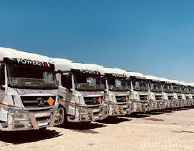 POWERFUL 34 TON SIDE TIPPER TRUCKS FOR HIRE  IN SOUTH AFRICA