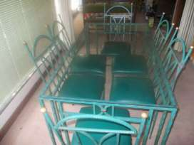 Wrought Iron Dinner Table for sale