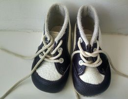 Шкіряні черевички 19 р ортопедична стілка каблук