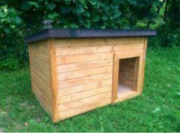 Деревянная утеплённая будка для вашего любимого домашнего питомца