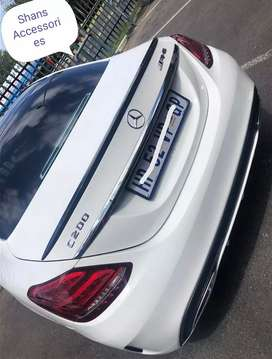 W205 Boot spoilers Limpopo