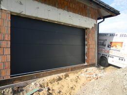 Brama segmentowa garażowa - 500 x 225 na wymiar ANTRACYT