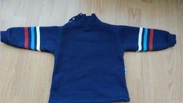 Синий теплый свитер 2-3 года на байке