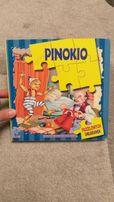 Pinokio 5 puzzlowych układanek