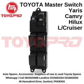 Toyota Corolla Yaris Camry Hilux Land Cruiser Window Master Switch