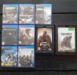 PS4 and Xbox games.