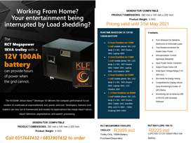 Protect your computer equipment from load-shedding