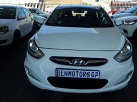 For Sale:2013 Hyundai Accent,Engine1.6,Automatic