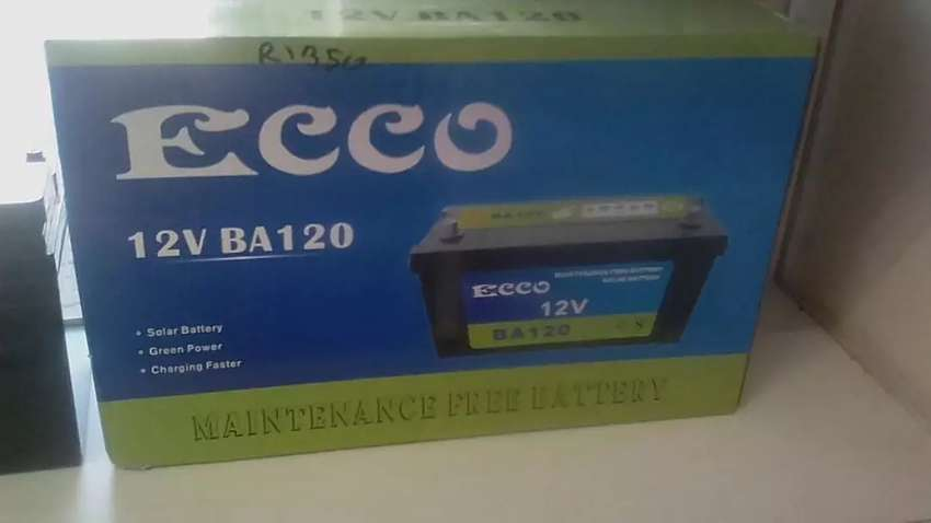 Solar batteries 120ah ecco 0