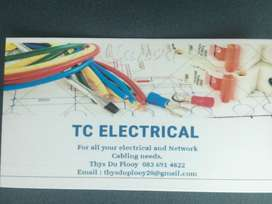 TC Electrical - For all your electrical and network cabling needs!