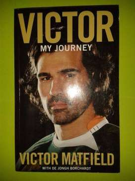 Victor My Journey - Victor Matfield with De Jongh Borchardt - Rugby.