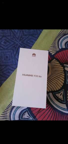 Huawei P20 lite for sale, the phone is still in perfect condition