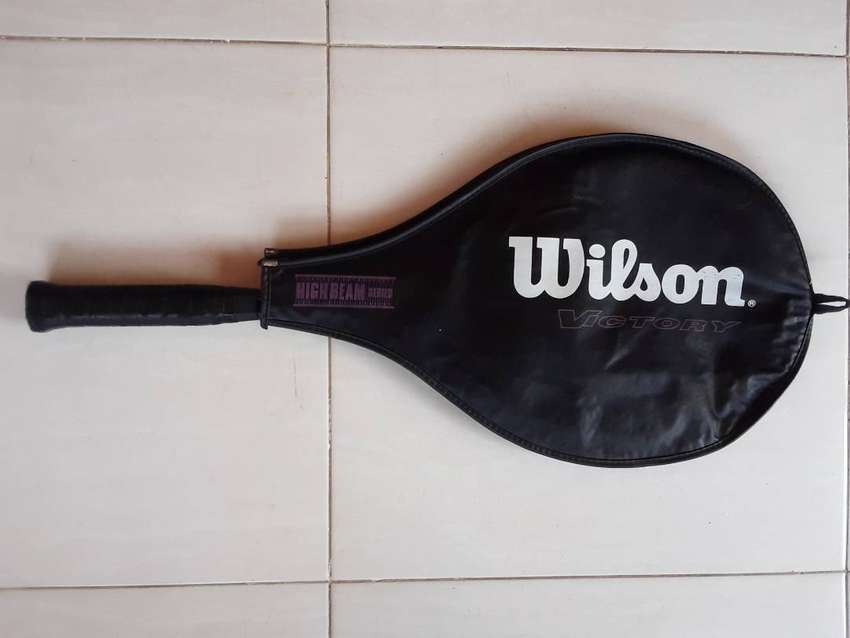 Wilson Victory Tennis Racquet. Highbeam Series . With Cover.