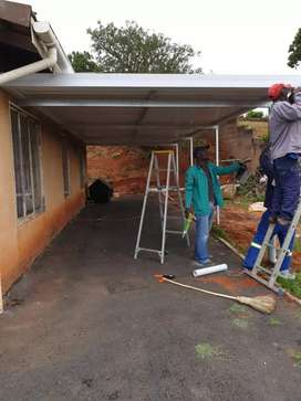 Uptown carports and blinds/curtaining projects