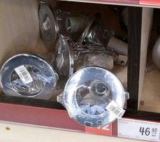 Врезной фонарь + лампа , новый, (комплект )