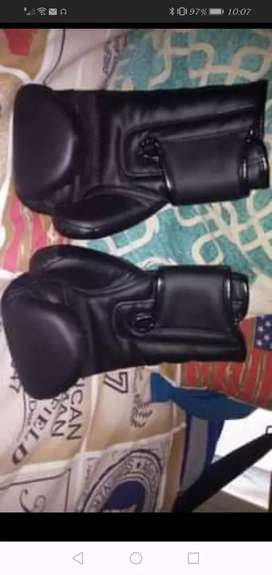 GET-UP punching bag and gloves
