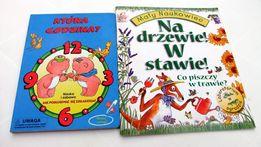 Która Godzina , Na drzewie i w stawie książeczki dla dzieci