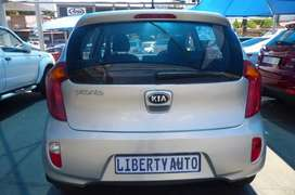 2013 Kia Picanto 1.1 LX Hatch Back 70,000km Manual  LIBERTY AUTO
