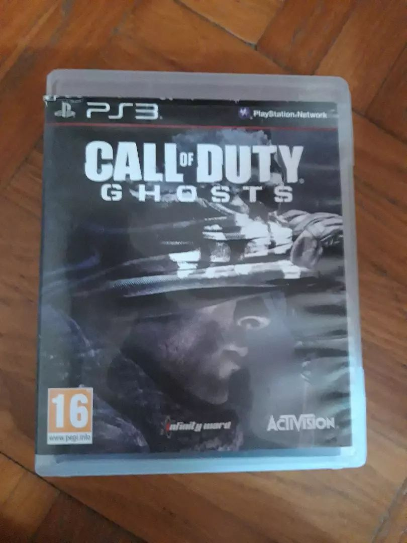Call od duty ghost ps3 0