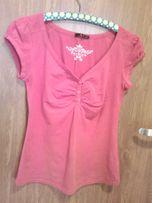 Czerwona bluzka damska Fashion M