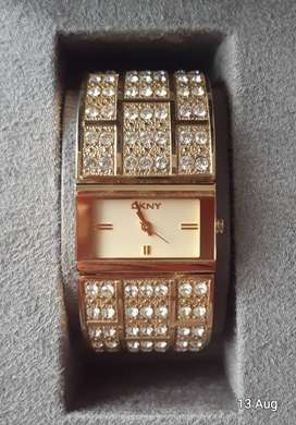 DKNY Gold Plated Watch