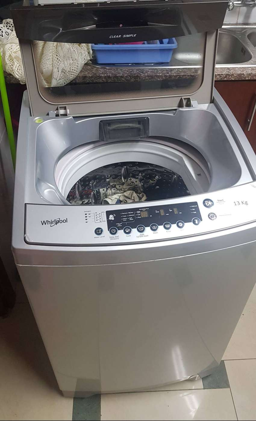 Whirlpool washing machine 13kg 7months 0