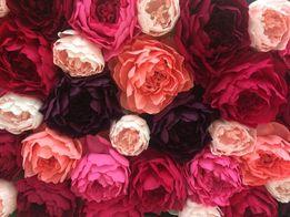 Свадебная флористика,фотозона из искусственных цветов,букет невесты