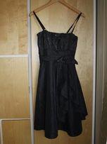Czarna sukienka cekiny