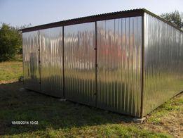 Garaż Blaszak 6x5 2930 zł Bramy,Kojce