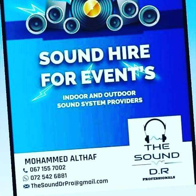 Sound hire for events 0