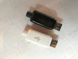 micro usb type B, под пайку