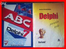 """Książka programowanie """"ABC Delphi 7"""" A Daniluk + Delphi Pierwsze Kroki"""