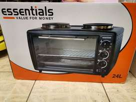 Essential 2 plate stove and oven